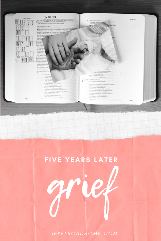 what grief looks like five years later