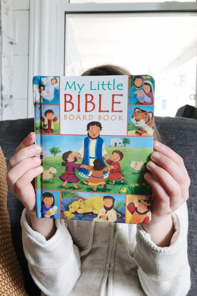 teaching the bible to children