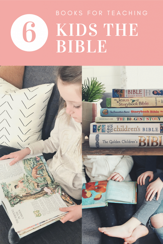 books for teaching kids the bible