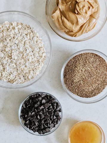 Gluten-free energy bites ingredients