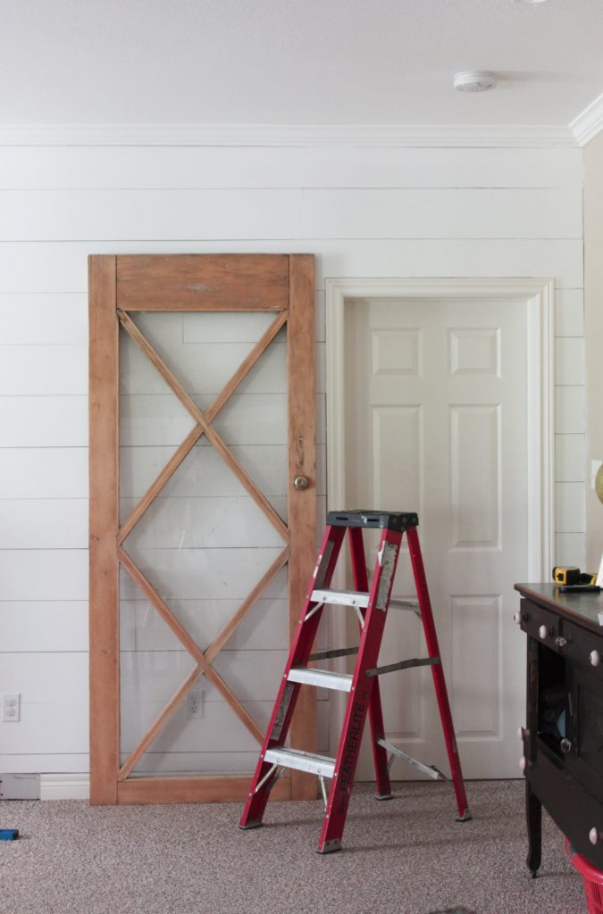 update your home on a budget with salvaged doors