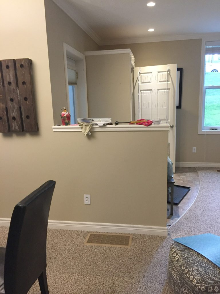 update yout home on a budget with  removing half wall
