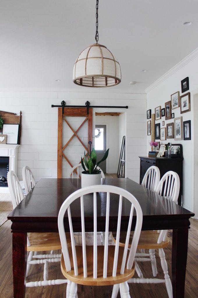 dining room pendent light