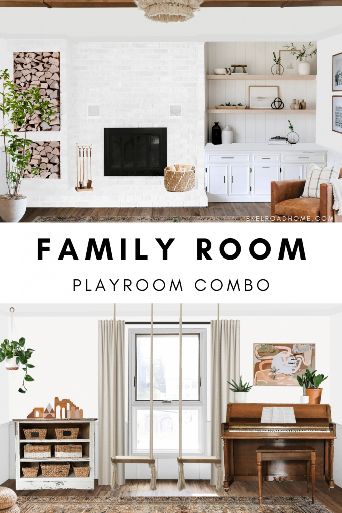 family room playroom combo image for pinterest