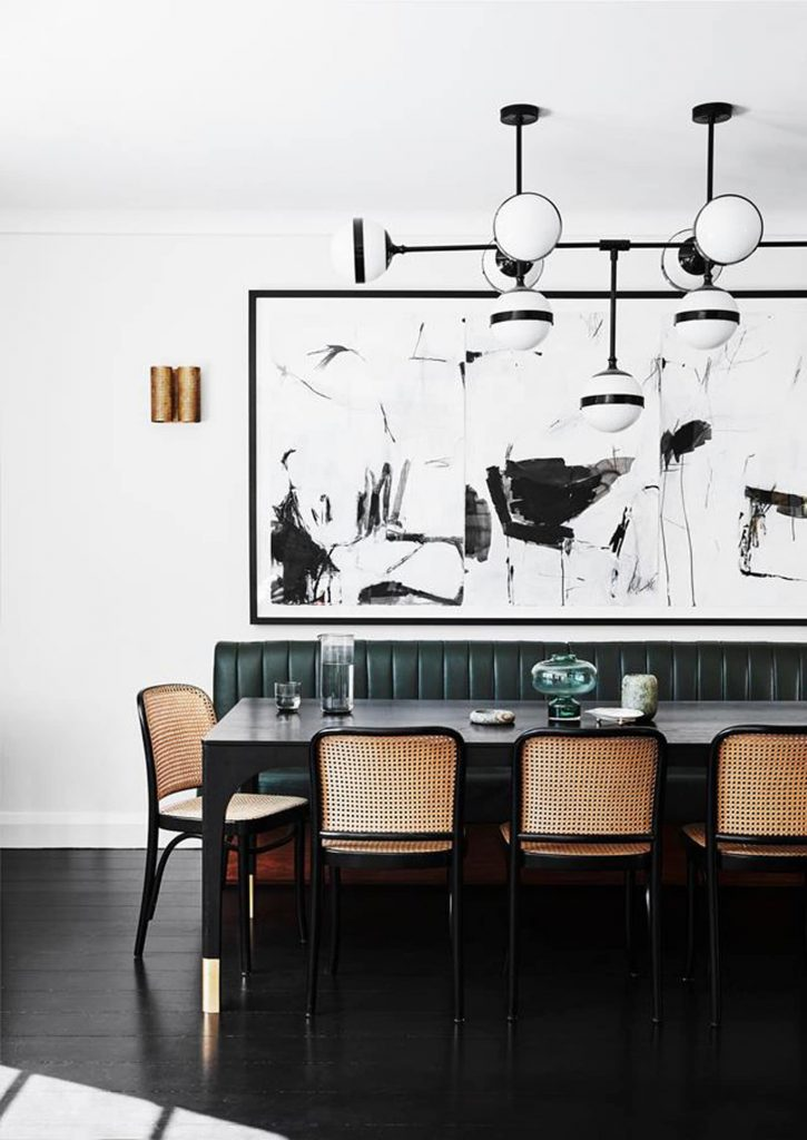 large artwork for dining room idea