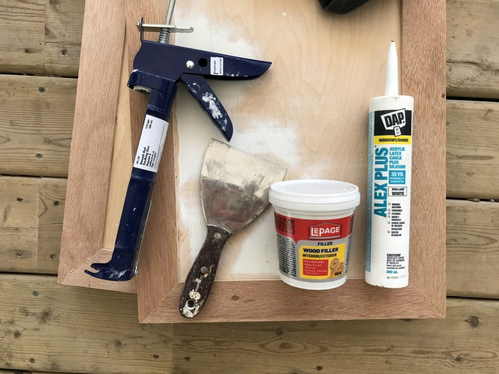 supplies need to build shaker cabinet