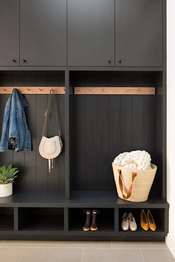 entryway cubbies