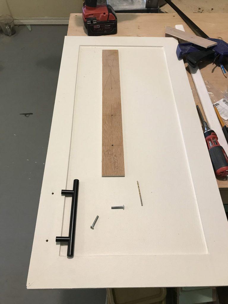 assembling cabinet hardware