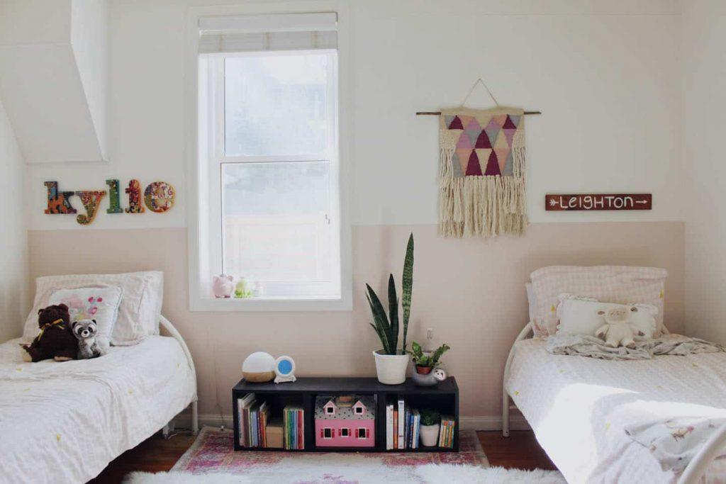 shared girls' bedroom