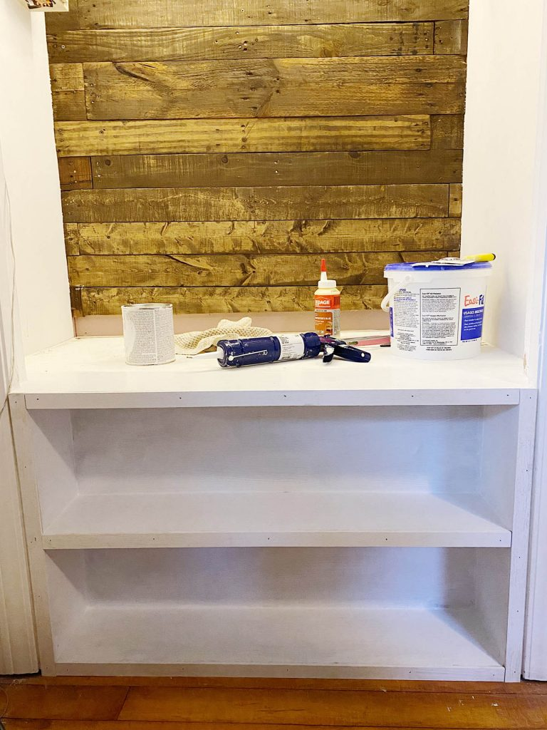 building reading nook bookcase