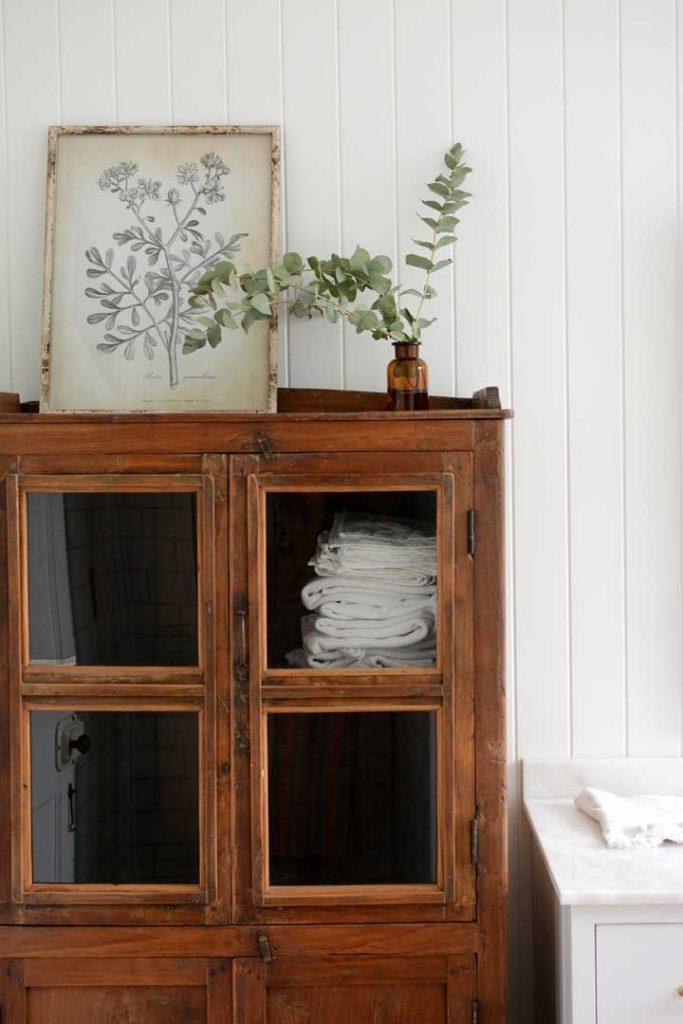 no linen closet solution